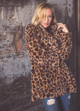 Load image into Gallery viewer, Leopard Coat
