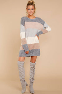 Ice Cold Sweater Dress