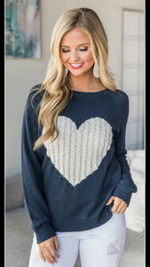 Hearts on Fire Sweater