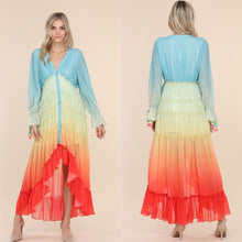 Load image into Gallery viewer, Sunshine ombre dress
