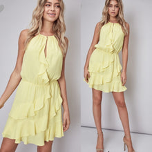 Load image into Gallery viewer, Lemon party dress
