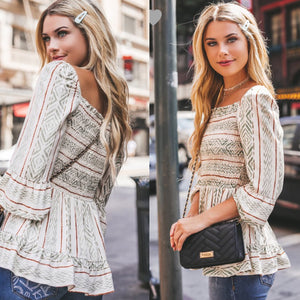 Downtown style top