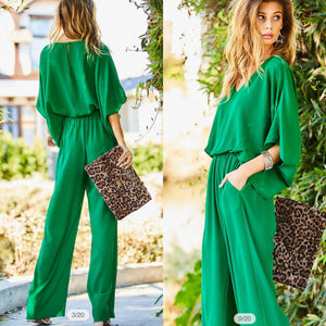 Lucky in love jumpsuit