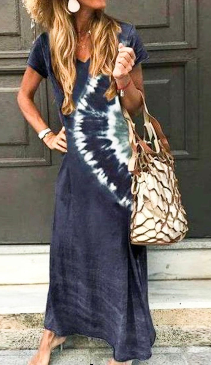 Southern  styles maxi in navy