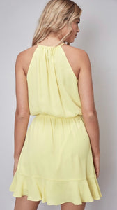 Lemon party dress