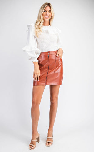 Fall vibes skirt