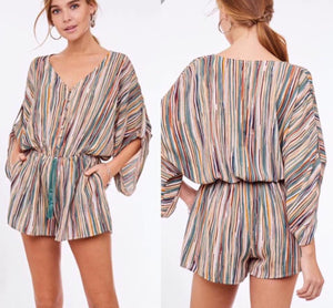 Stripes for the win  Romper