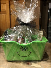 Grinch gift basket