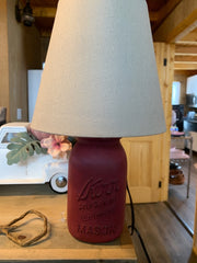 Lamp shade with lamp off