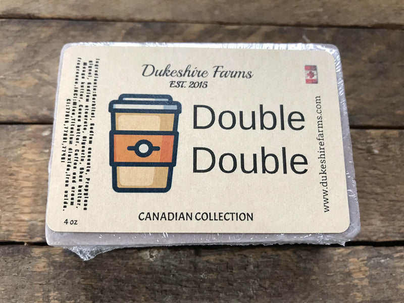 Double double: Triple butter soap