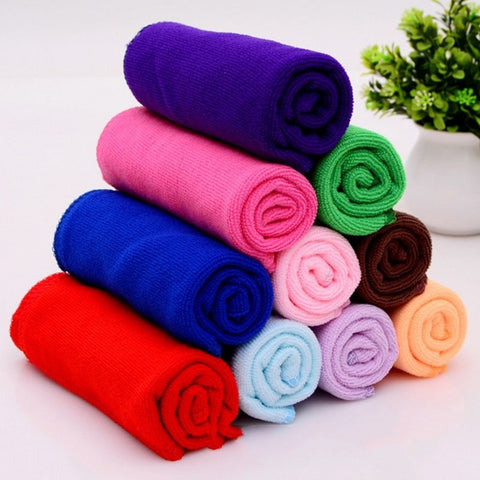microfiber car wash, cleaning & drying towel