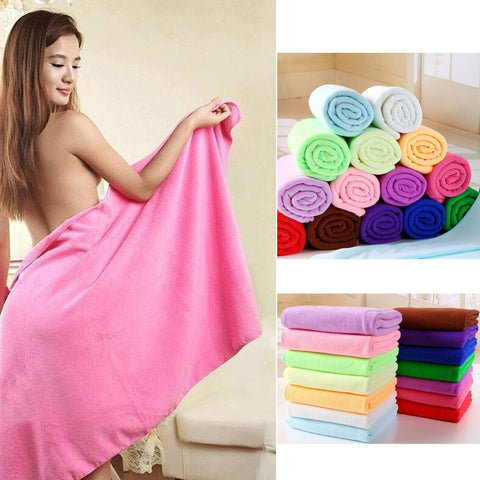 Microfibre  Bath Super Absorbant  Large & Thick Towel