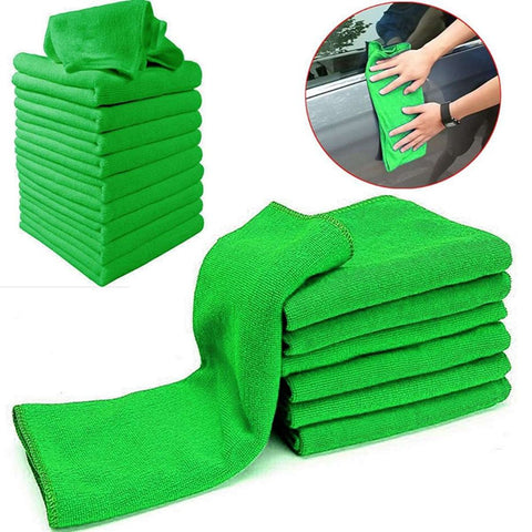 Green & Blue Cleaning  Towel Duster