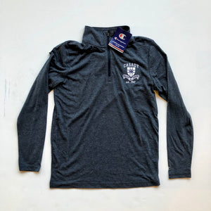 Youth Field Day 1/4 Zip - Heather Midnight Navy
