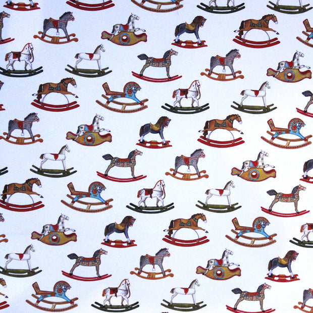Rossi Rocking Horses Wrapping Paper