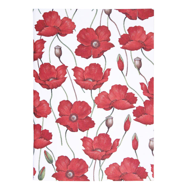 Rossi Poppies - Softcover notebook