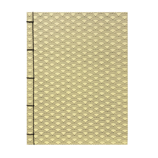 Bohemia Paper Notebook with japanese binding, yellow