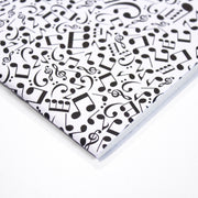 Rossi Music Notes - softcover notebook