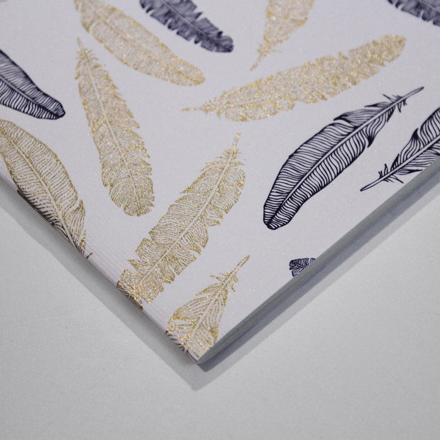 Rossi Feathers - softcover notebooks