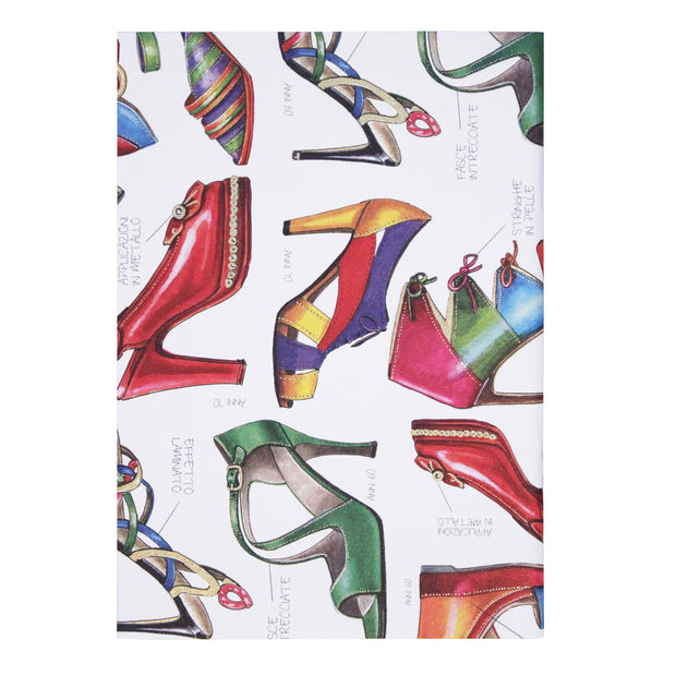 Rossi Fashion Shoes - Softcover notebook
