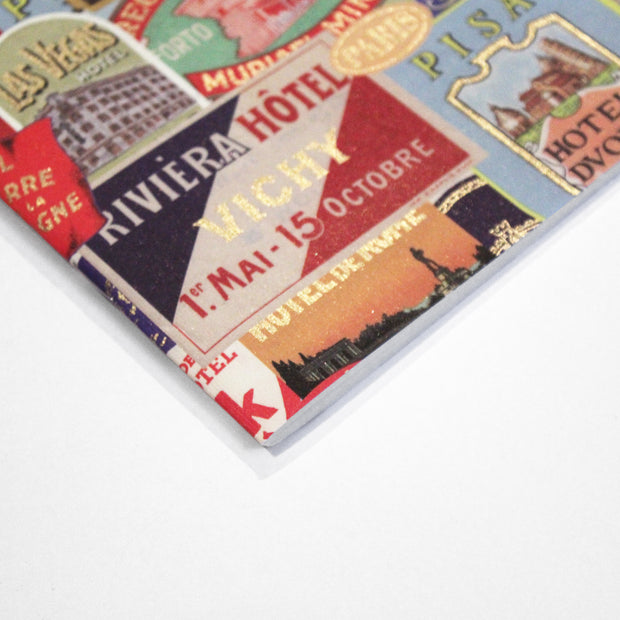 Rossi Hotels Luggage Labels - Softcover notebook