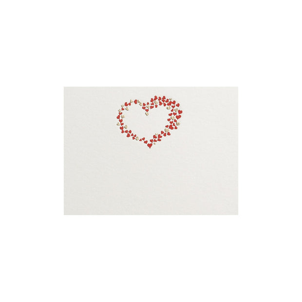 Hearts, table card (10 pcs)