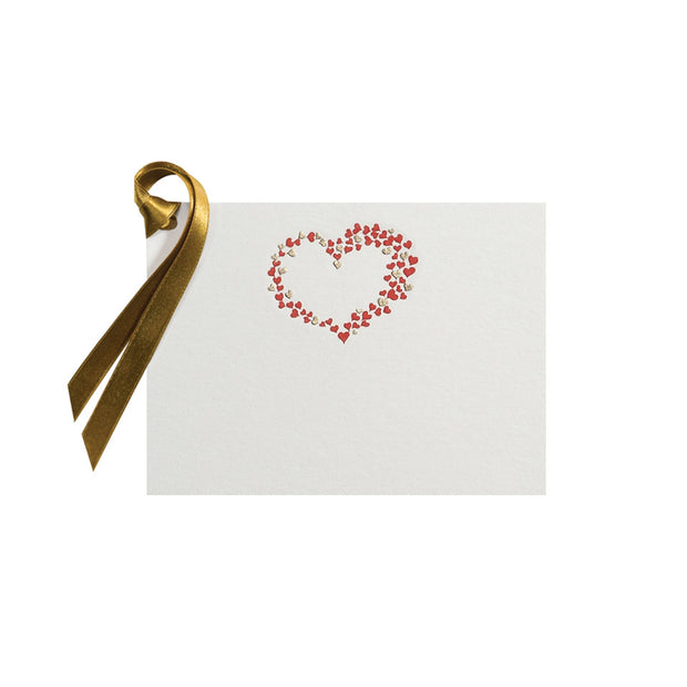 Hearts, gift tag (10 pcs)