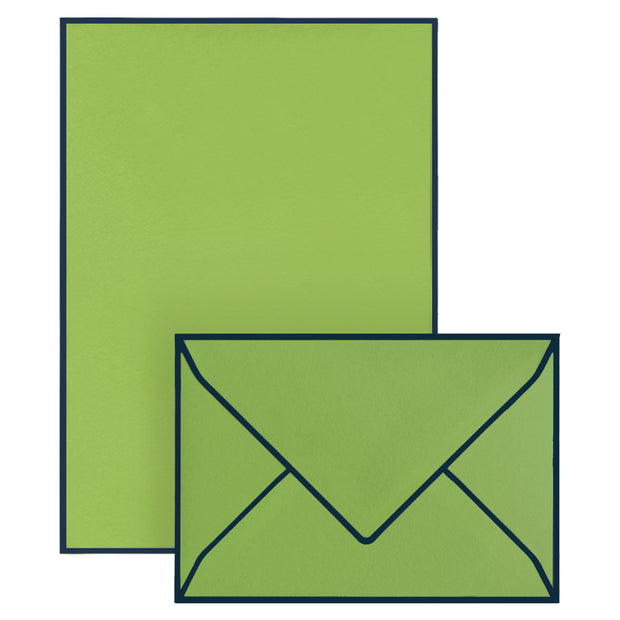 Correspondence Set Lime Green (10 pcs)
