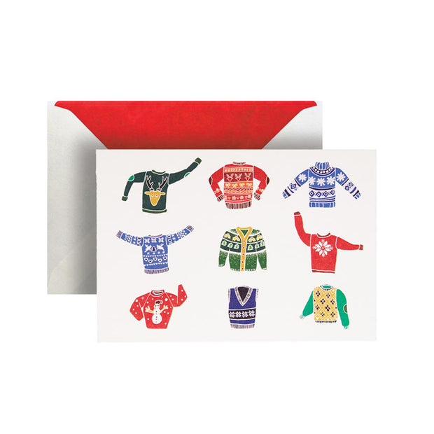 Christmas Sweaters Greeting Card