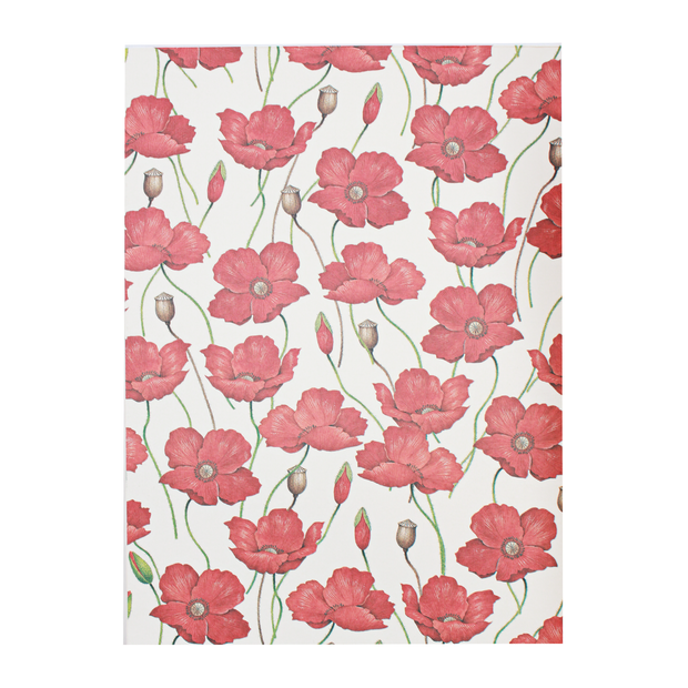 Poppy - Rossi notepad A4