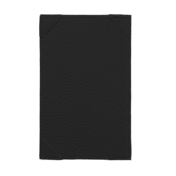 Bohemia Paper Leather Jotter Note Holder Black