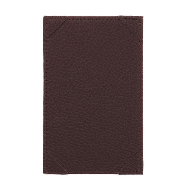Bohemia Paper Leather Jotter Note Holder Brown