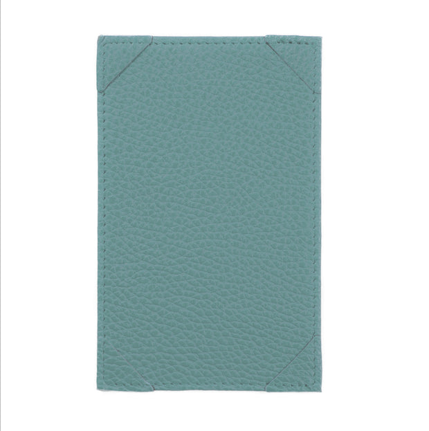 Bohemia Paper Leather Jotter Note Holder Turquoise