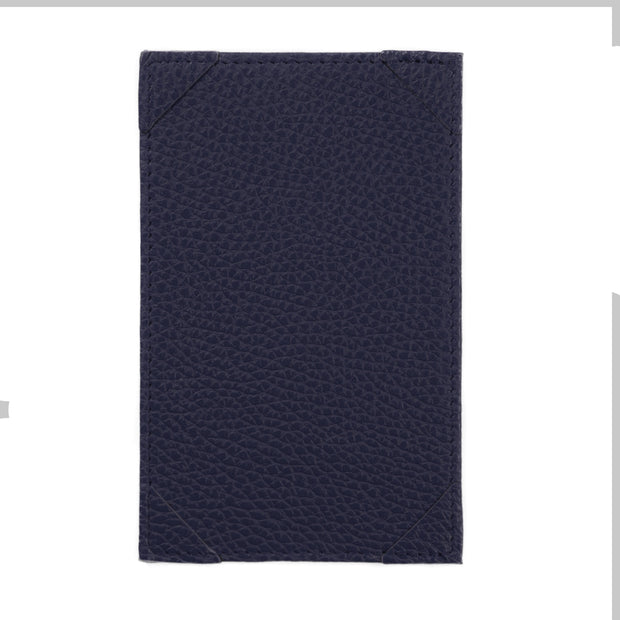 Bohemia Paper Leather Jotter Note Holder Navy Blue