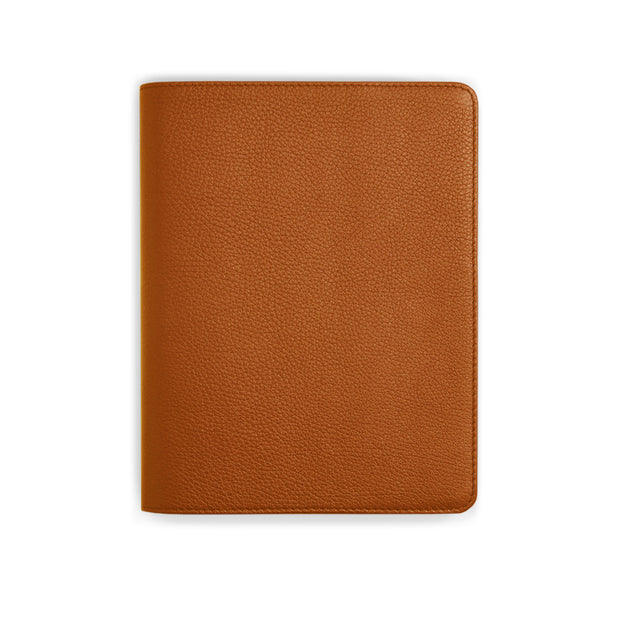 Bohemia Paper Leather Notebook Cognac