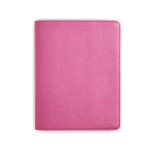 Bohemia Paper Leather Notebook Pink