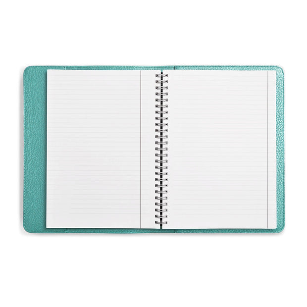 Bohemia Paper Leather Notebook Turqoise