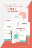2020 Spark Success Goal Planner by Marva Smith - inside page layout