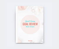 Spark Success Goal Review Made Simple - by Marva Smith