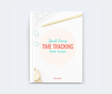 Spark Success Time Tracking Made Simple -by Marva Smith