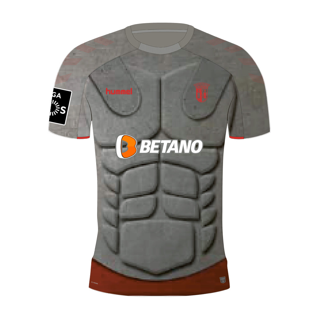 CAMISOLA ALTERNATIVA CINZA BRAGA 2019 2020