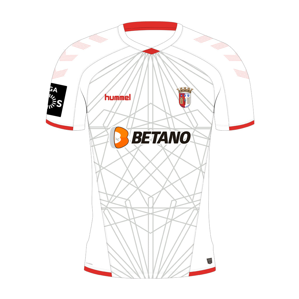 CAMISOLA ALTERNATIVA BRANCA BRAGA 2019 2020