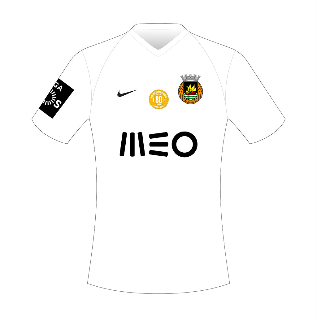 CAMISOLA ALTERNATIVA BRANCA RIO AVE 2019 2020
