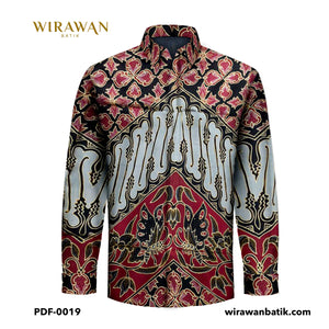 [SOLD] Silk Thai Prada Fabric PDF-0019