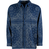 Royal Blue 3M Silk Shirt