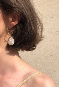 Freshwater Pearl Earrings - Bold Stories