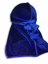 Load image into Gallery viewer, Blue Velvet Durag