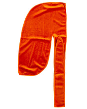 Load image into Gallery viewer, Orange Velvet Durag