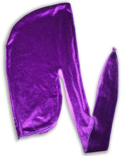 Load image into Gallery viewer, Purple Velvet Durag
