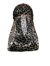 Load image into Gallery viewer, Leopard Color Velvet Durag